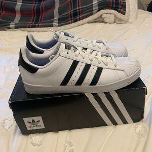 Adidas Black/White Classic Shell-Toe